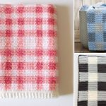 Comfy and Cozy Gingham Crochet Blanket Ideas