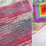 Beautiful Filet Stitch Blanket Ideas