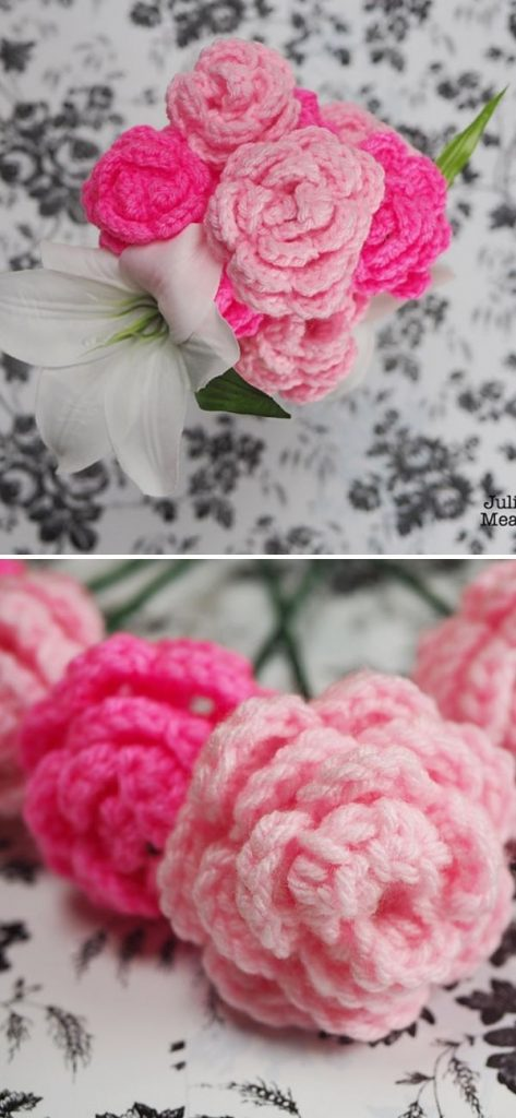 rose amigurumi