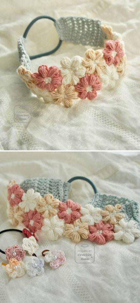 Mollie flowers headband