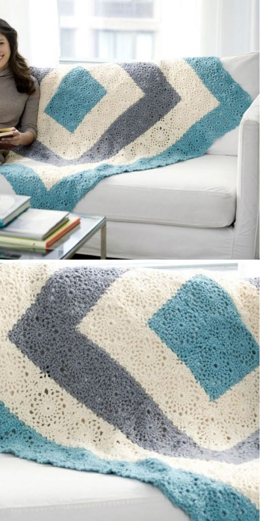 Square Upon Square Blanket