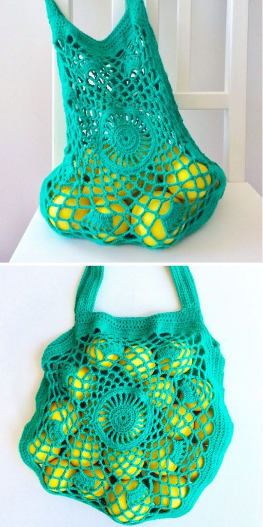 Mandala shopping bag