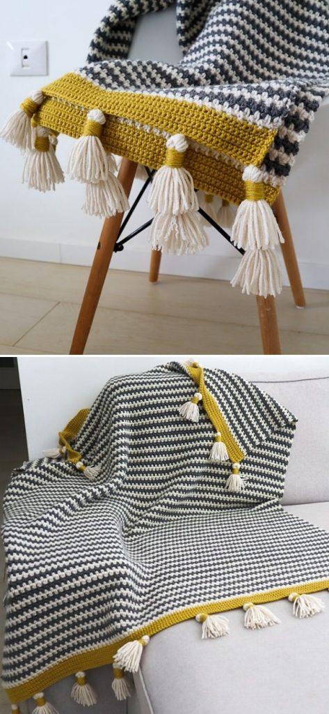 The Boho Stripes Blanket