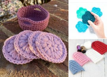 Reusable Crochet Face Scrubbies (Makeup Remover Pads)