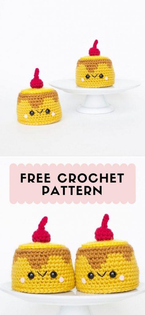 Crochet Pineapple Upside Down Cake