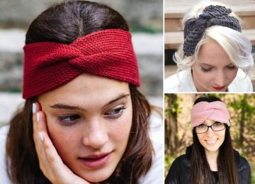 Beautiful Knitted Headband Ideas