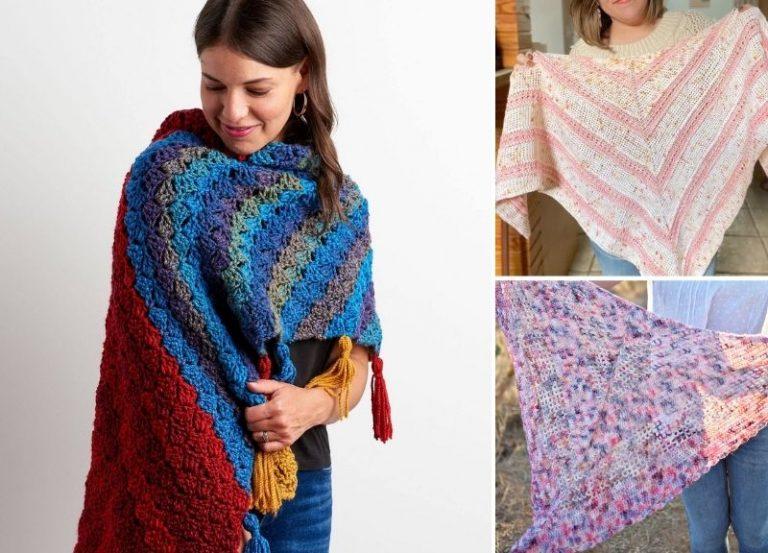 27 Free Crochet Shawl Patterns