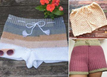 Comfy Crochet Shorts Pattern Ideas