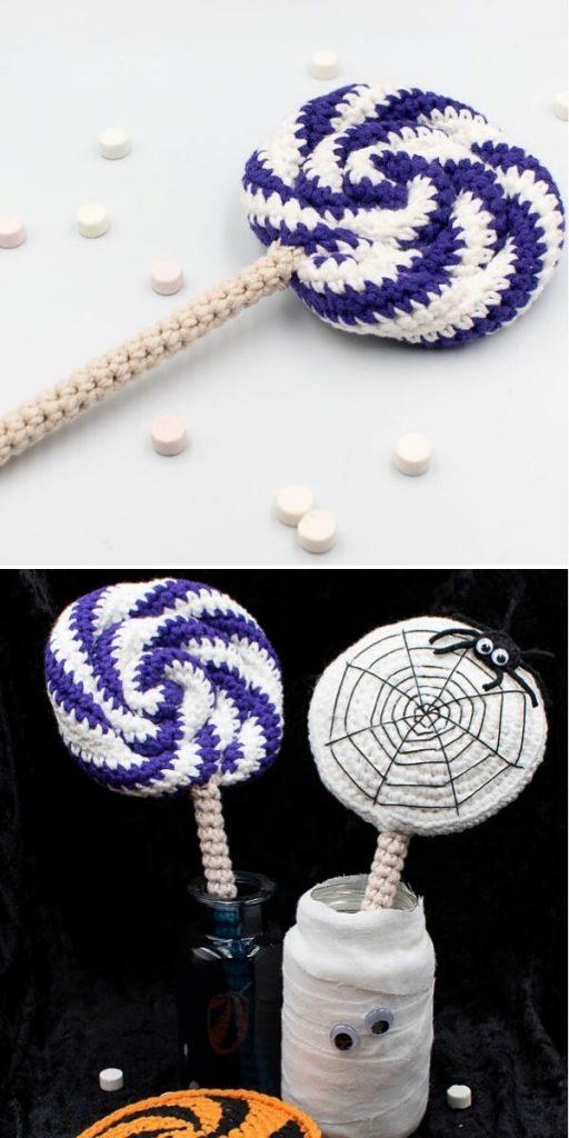 Halloween Swirl Lollipop